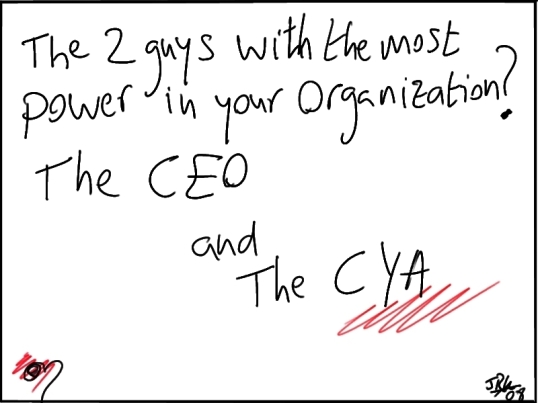 the CEO and the CYA
